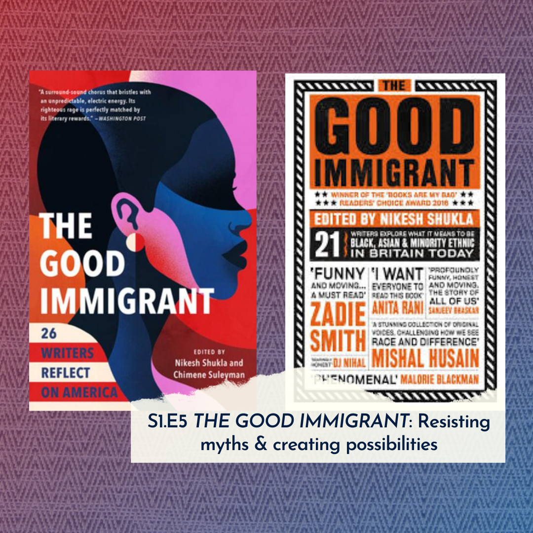 The Good Immigrant US & UK on The Lift Up podcast