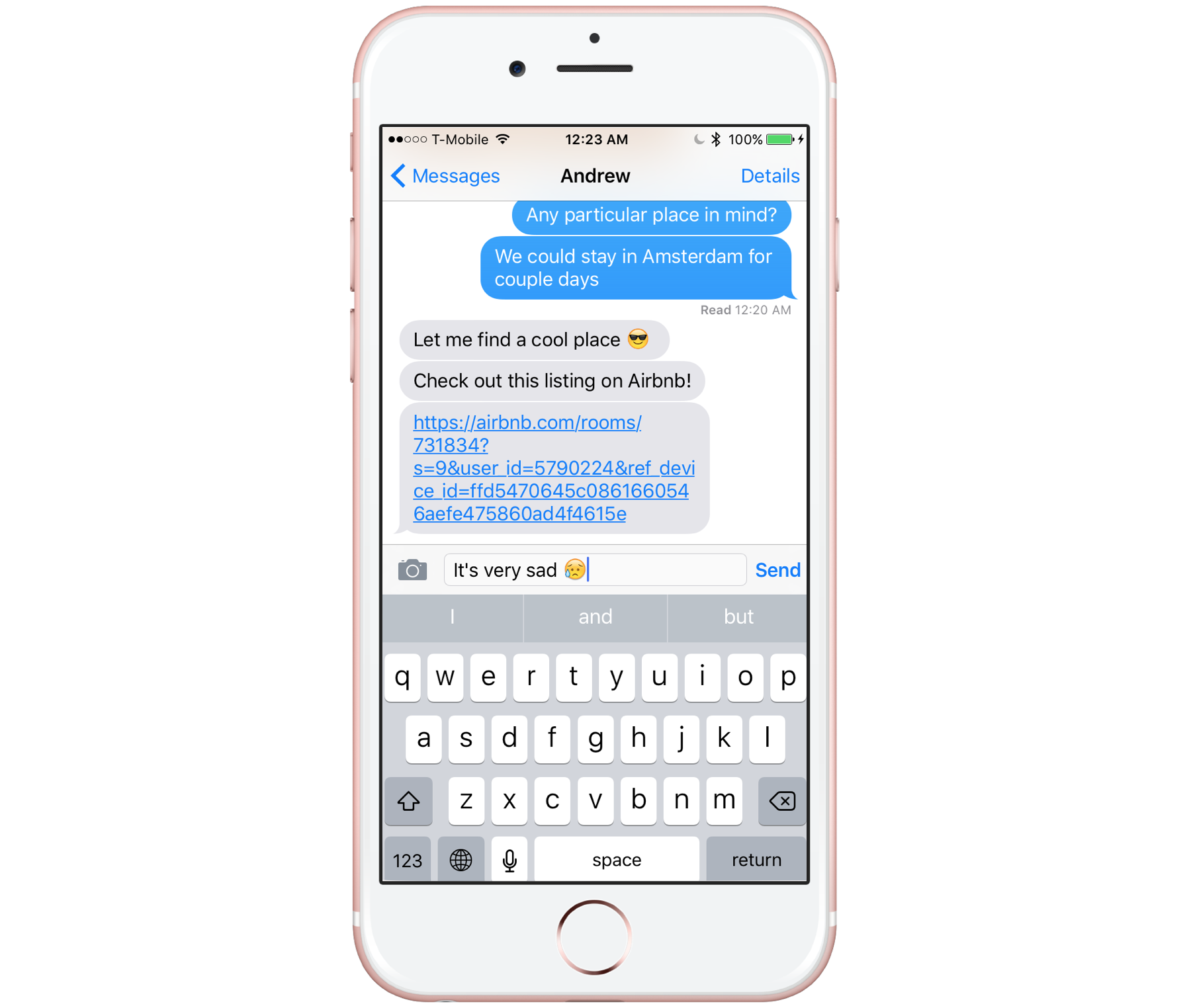 A new way to plan your trip: Introducing the Airbnb iMessage App