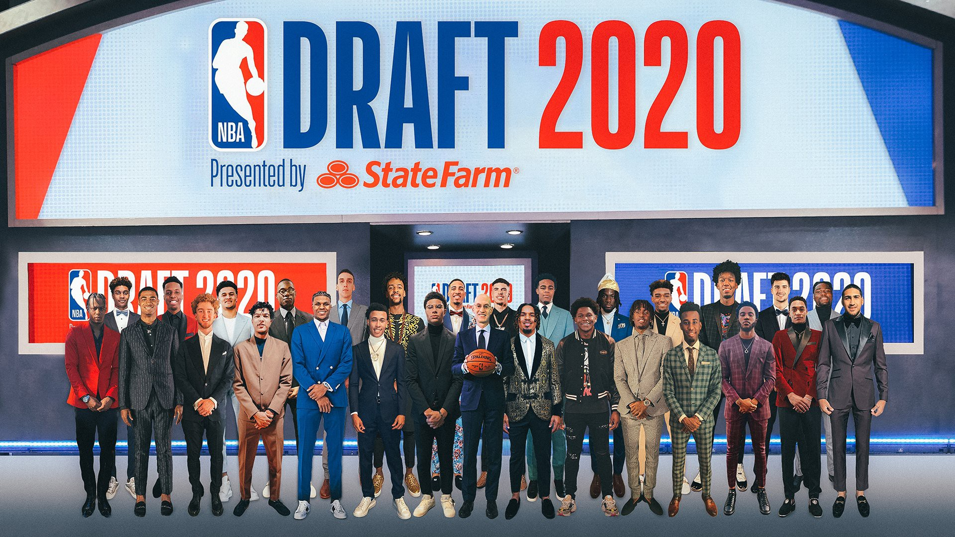 The 2020 NBA Draft was virtual, and so is this picture, but draft night was fun nonetheless. How does each team grade out?