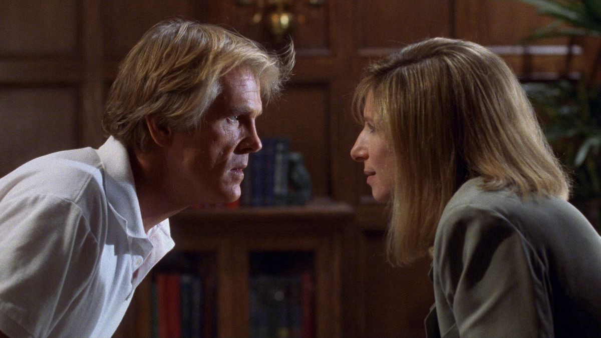 Nick Nolte and Barbara Streisand in 'Prince of Tides'