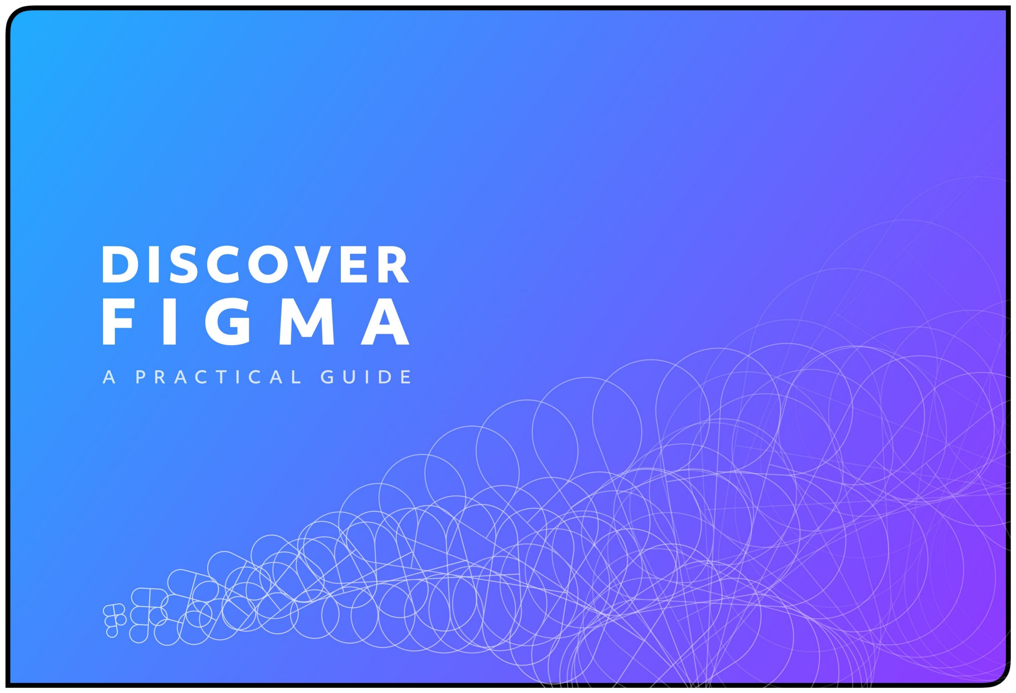 A blue/purple gradient with the words 'Discover Figma' in white
