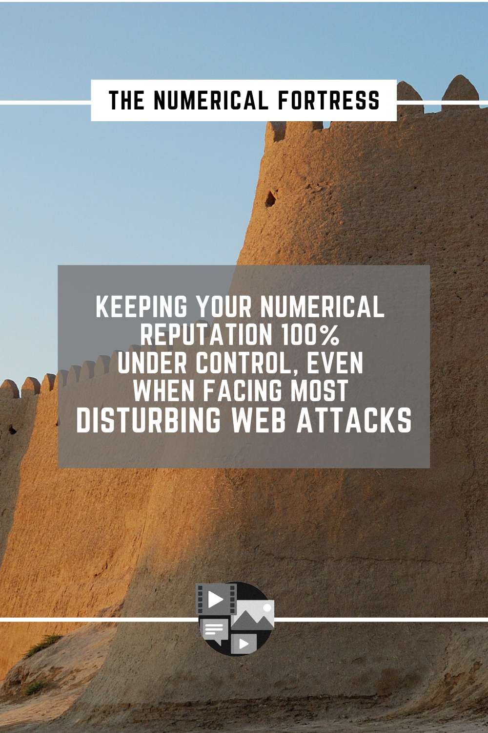 Numerical fortress for controlling E-reputation by Bernard Grua, web, internet, defamation, PINTEREST