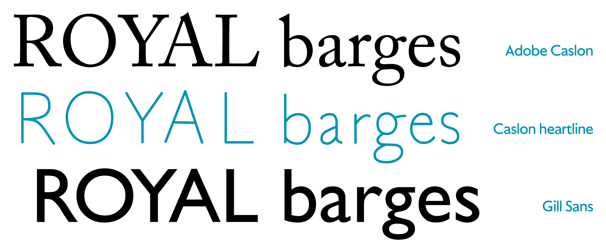 Dover: a look at the quintessential English typefaces