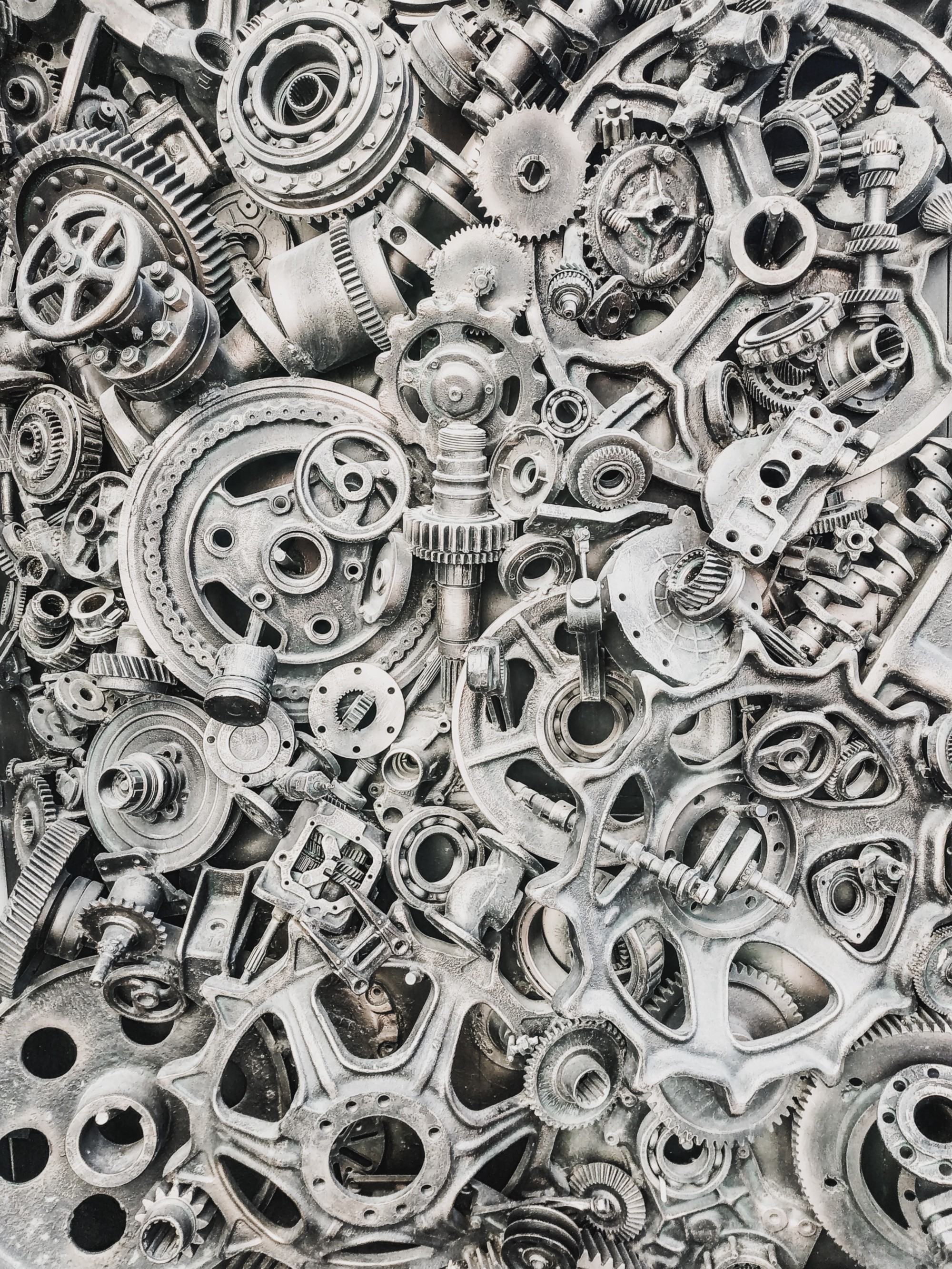 Thousands of Gears in a machine
