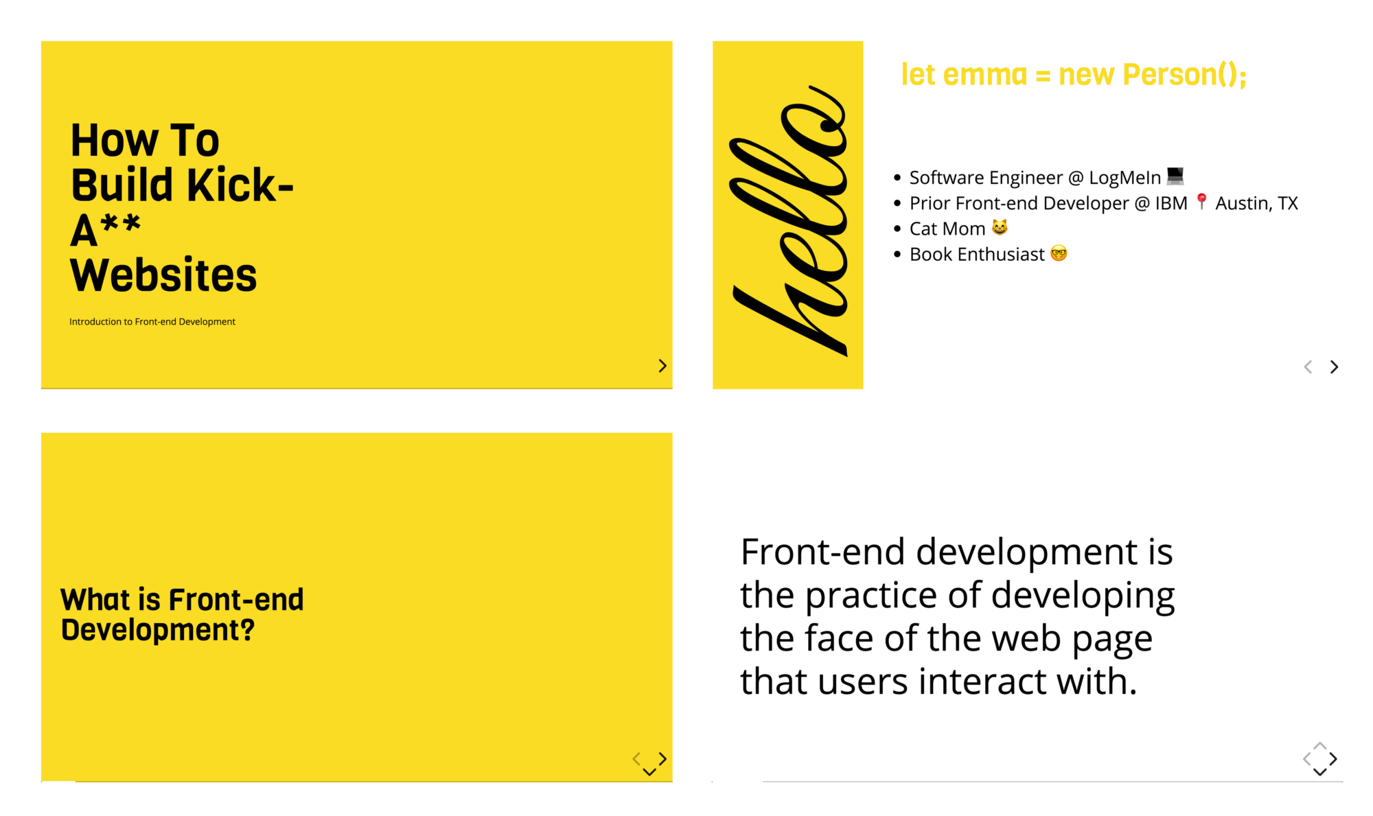How To Build A Captivating Presentation Using HTML, CSS, & JavaScript