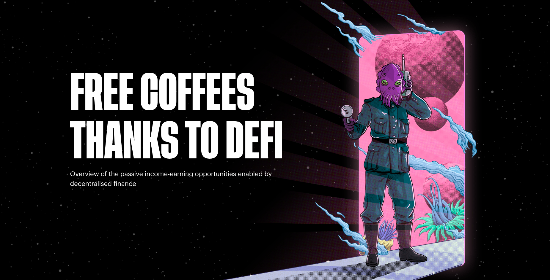 Free Coffees thanks to DeFi—Using the Monolith Card & DeFi to never pay for a coffee again
