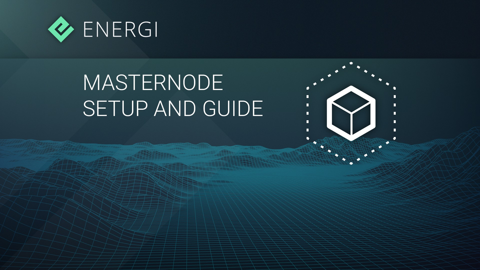 Energi Masternode Setup and Guide - Energi - Medium