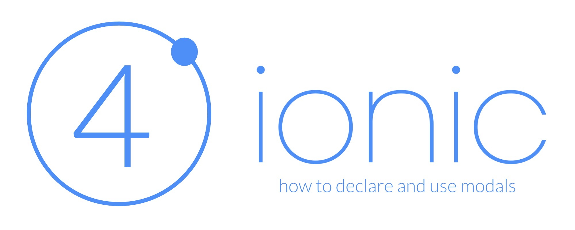 How to declare and use modals in Ionic v4 - David Dal Busco - Medium