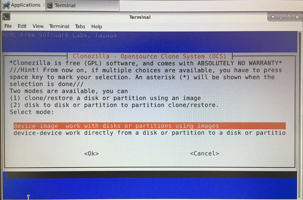 Disk Cloning with DRBL/Clonezilla for Multiple Laptops (2)