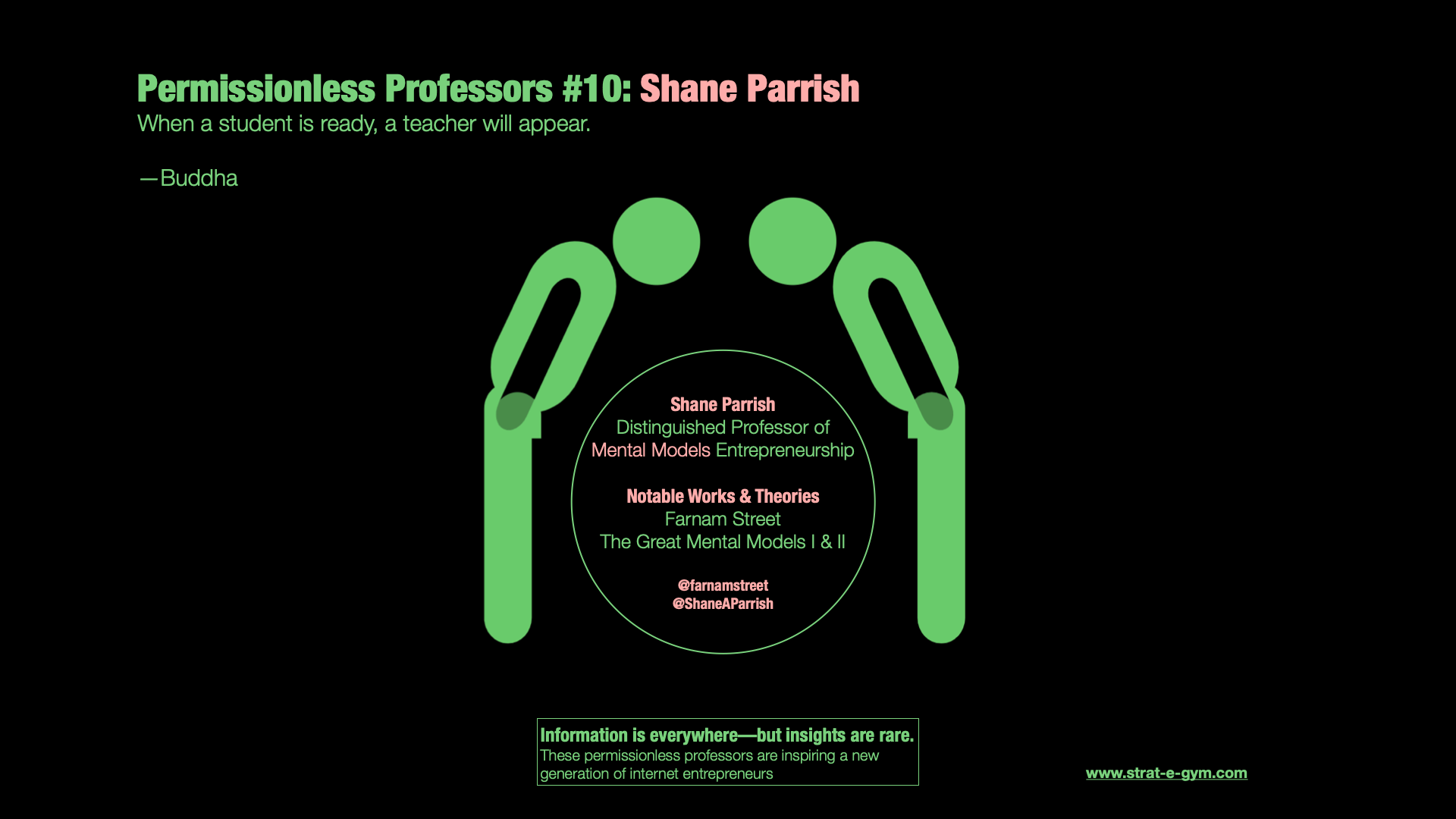 Permissionless Professors #10: Shane Parrish