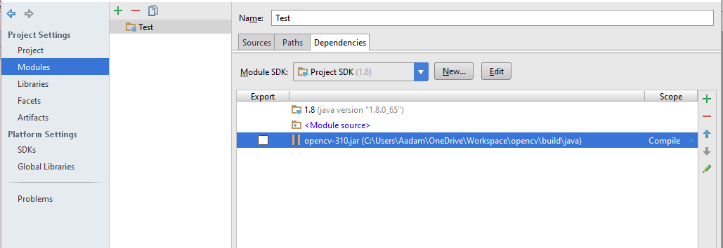How to set-up OpenCV in Intellij IDEA - Aadam - Medium