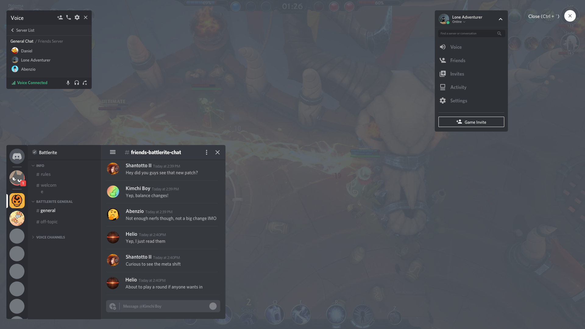 Redesigning the Discord Overlay - Discord Blog