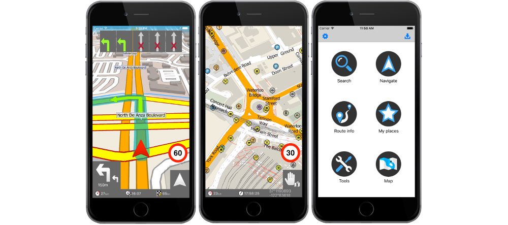 Popular GPS navigation app — MapFactor Navigator — now also
