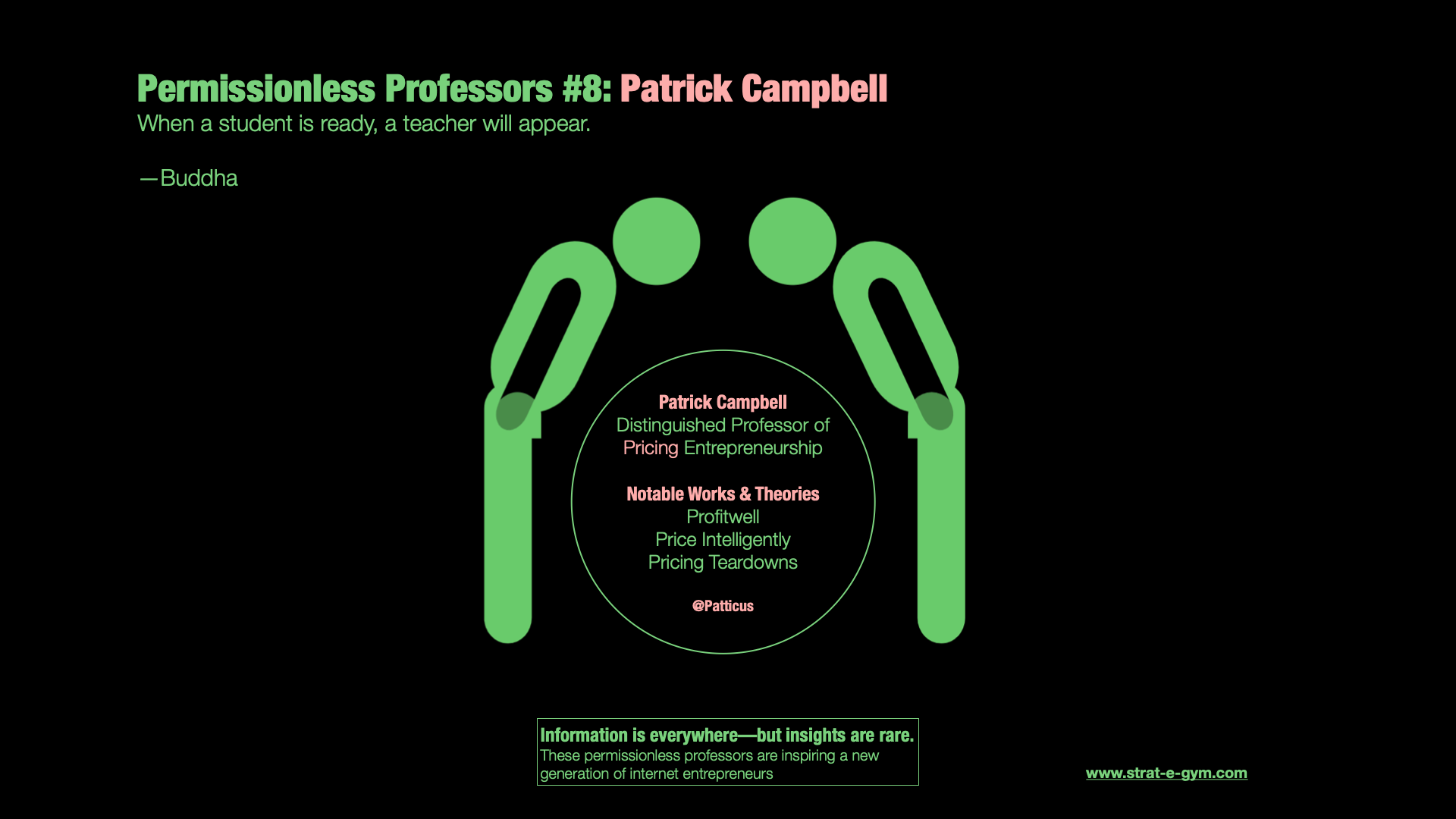 Permissionless Professors #8: Patrick Campbell