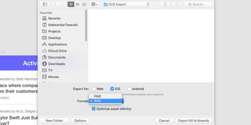 How to export assets from Adobe XD in two easy steps