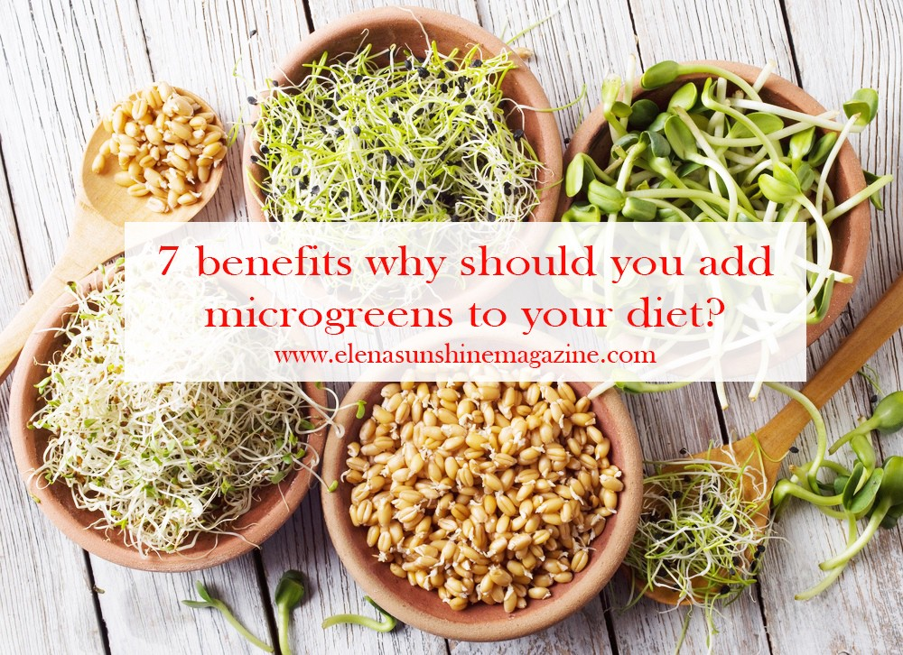 7 benefits why should you add microgreens to your diet?