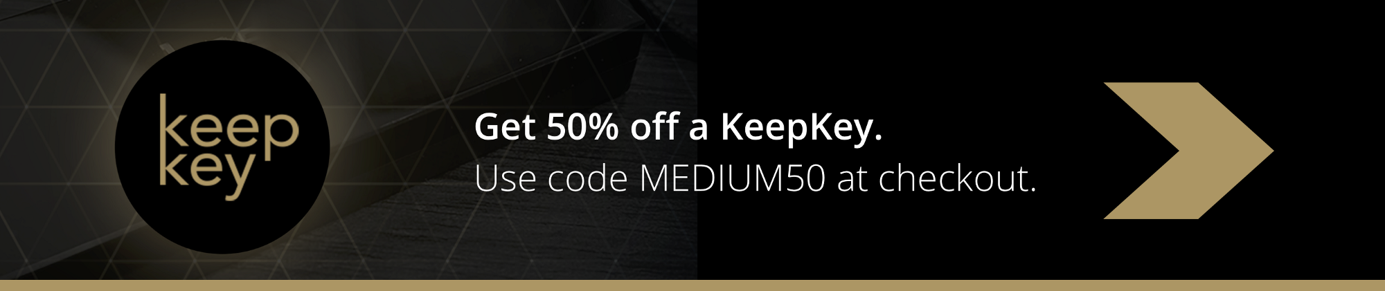 Get 50% off a KeepKey Crypto Hardware Wallet with the Code MEDIUM50