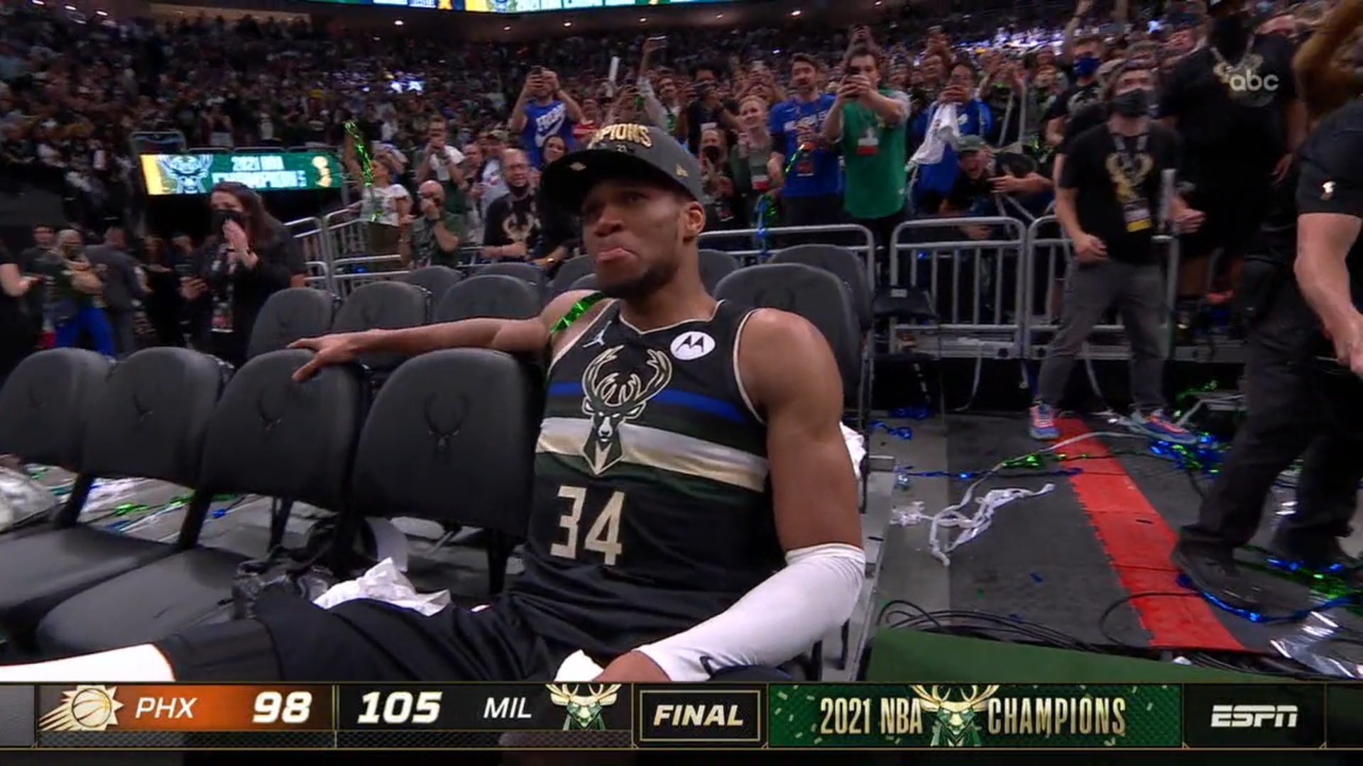 Giannis Antetokounmpo and the Milwaukee Bucks are NBA champions. But is Giannis the deserving 2021 Playoff MVP?