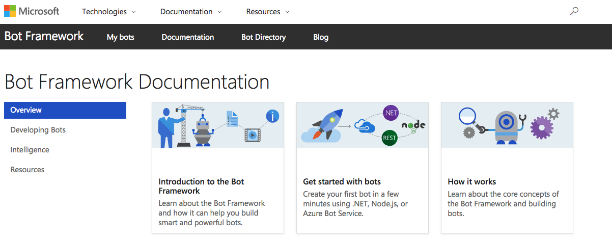 Introduction to the Microsoft Bot Framework - Chatbots Life
