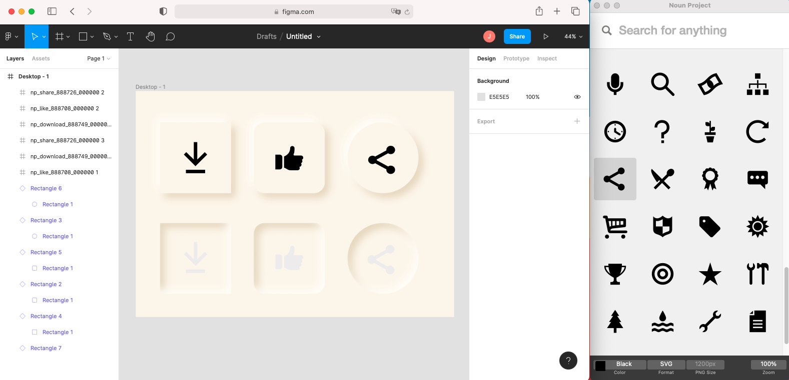 Add Noun Project icons to Figma instantly with the Noun Project App for Mac. Drag and drop unlimited icons royalty-free with Noun Pro. Change icon color and import icons as vector SVG's into your Figma file.