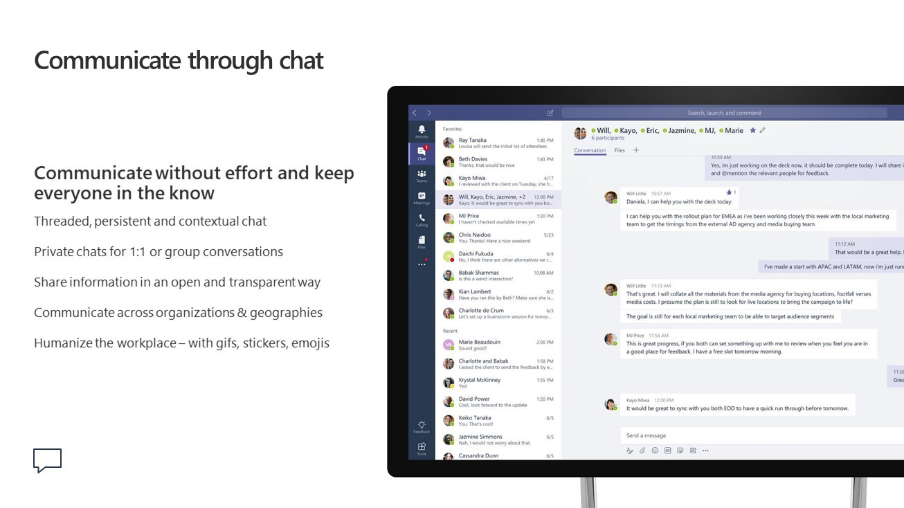 Improving Teamwork and Collaboration with Microsoft Teams