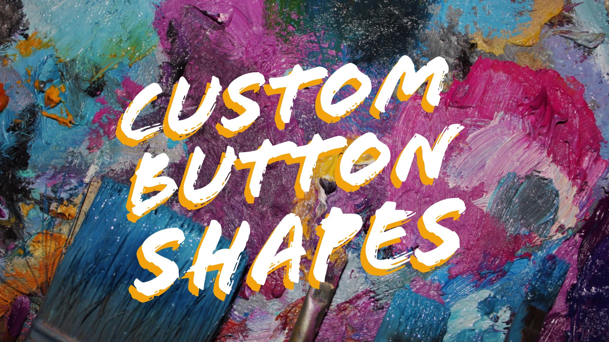 Buttons with custom shapes - Travis Horn