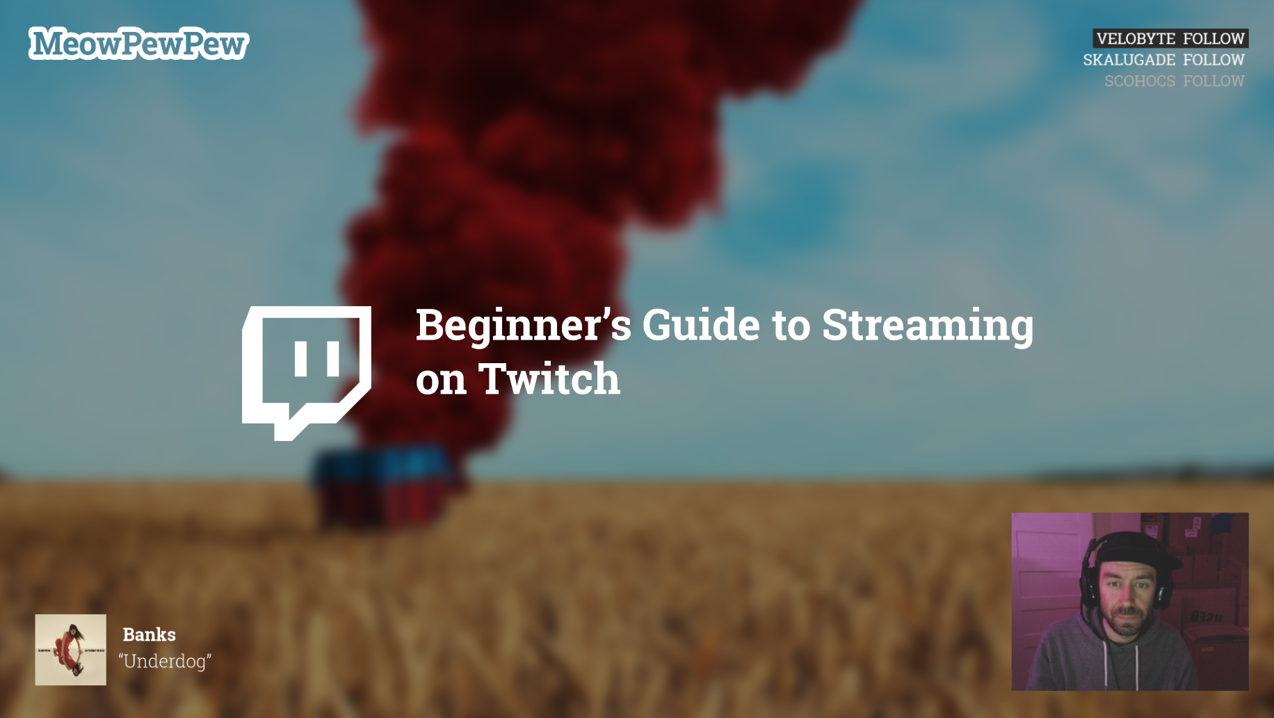 Beginner's Guide to Streaming on Twitch - Charlie Deets - Medium