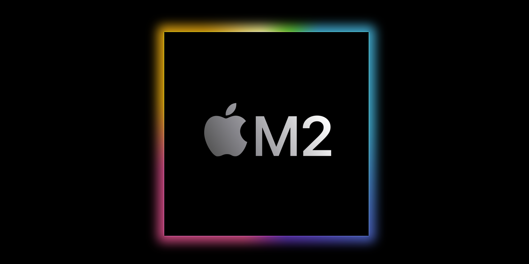 Graphic depicting Apple M2 silicon