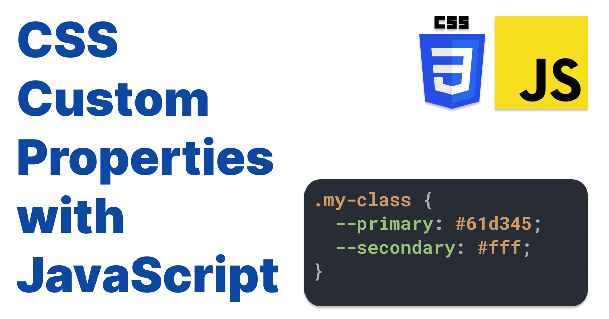 How to Change Look & Feel of Pseudo Elements using JavaScript and CSS Custom Properties