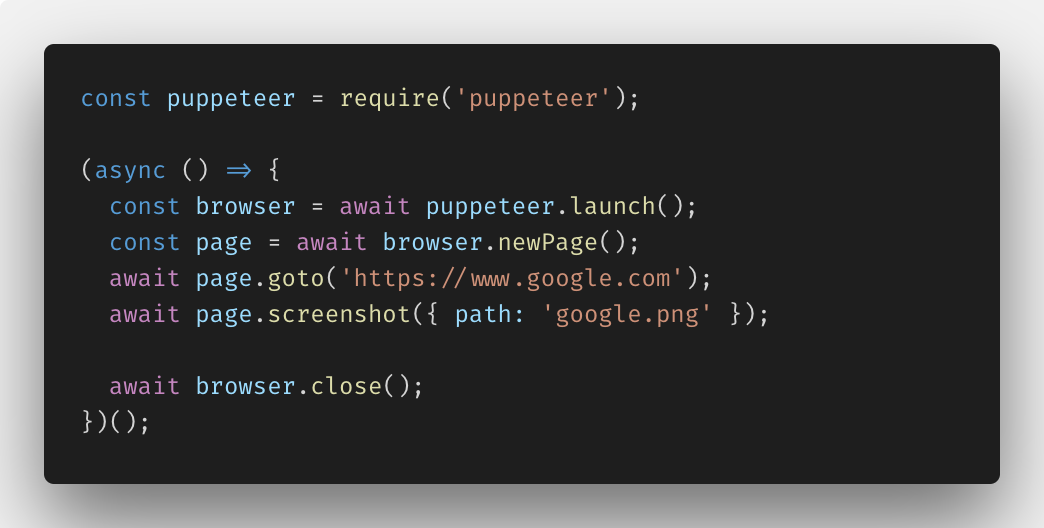 Getting Started Using Puppeteer & Headless Chrome for End-to-End Testing