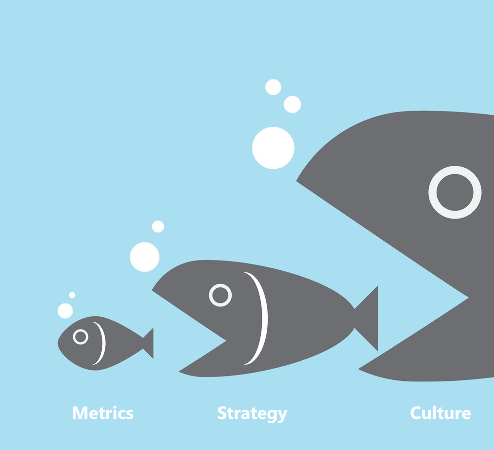 If culture eats strategy for breakfast, then strategy eats metrics for brunch.