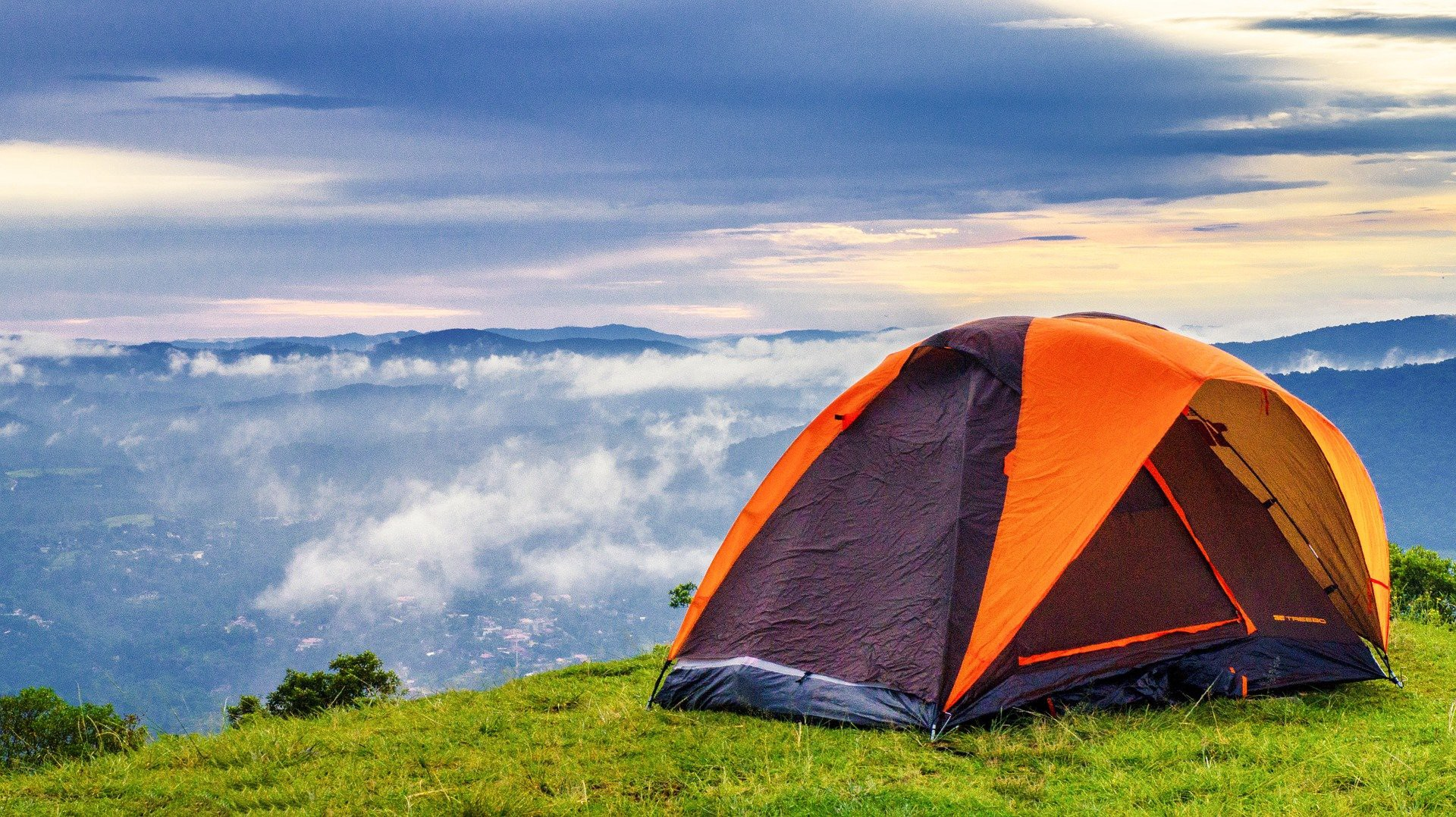Forget This Screen — The Real World Is Out There — Tenting on hills