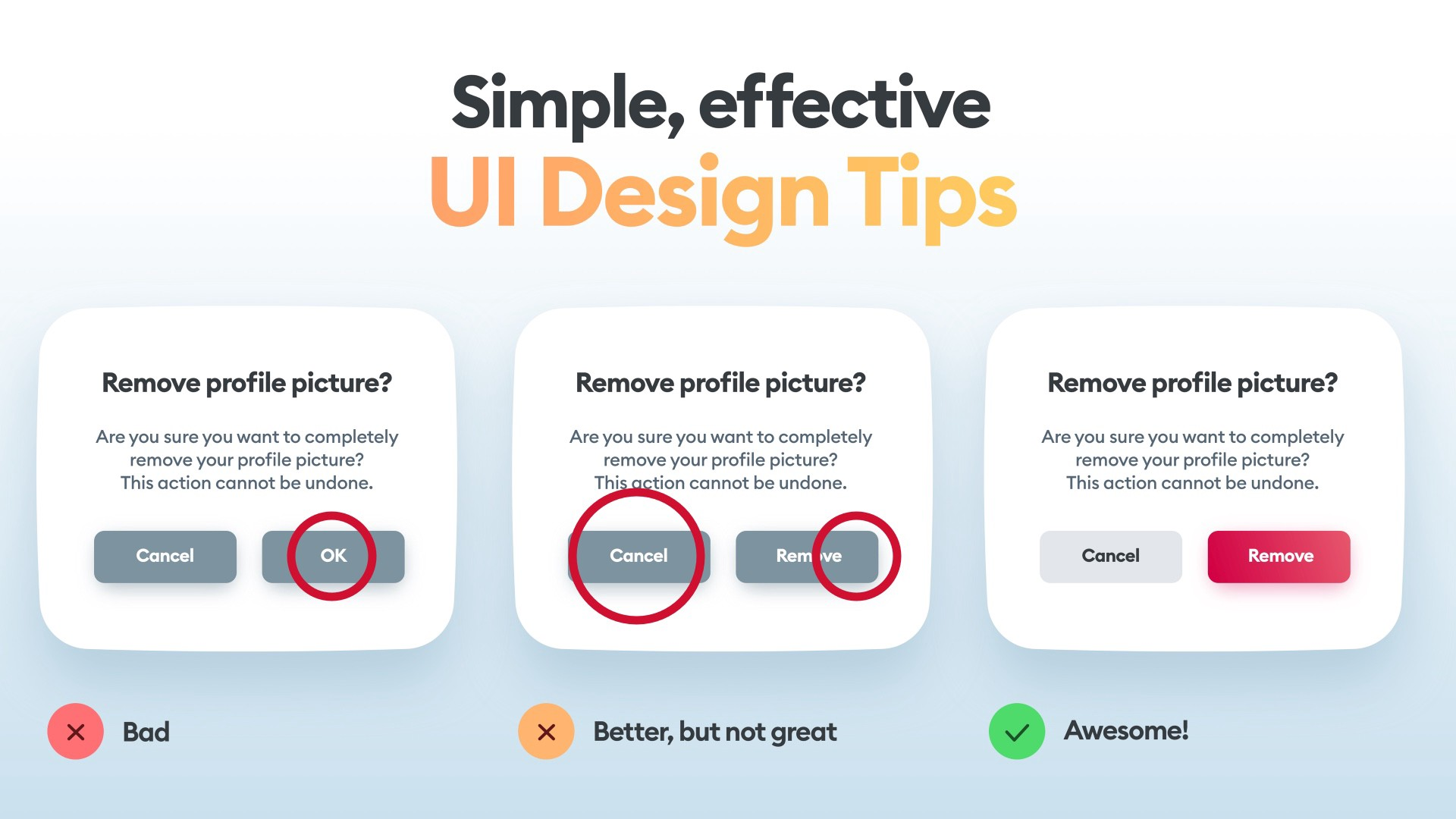 Daily UI Tips—learn with michal malewicz