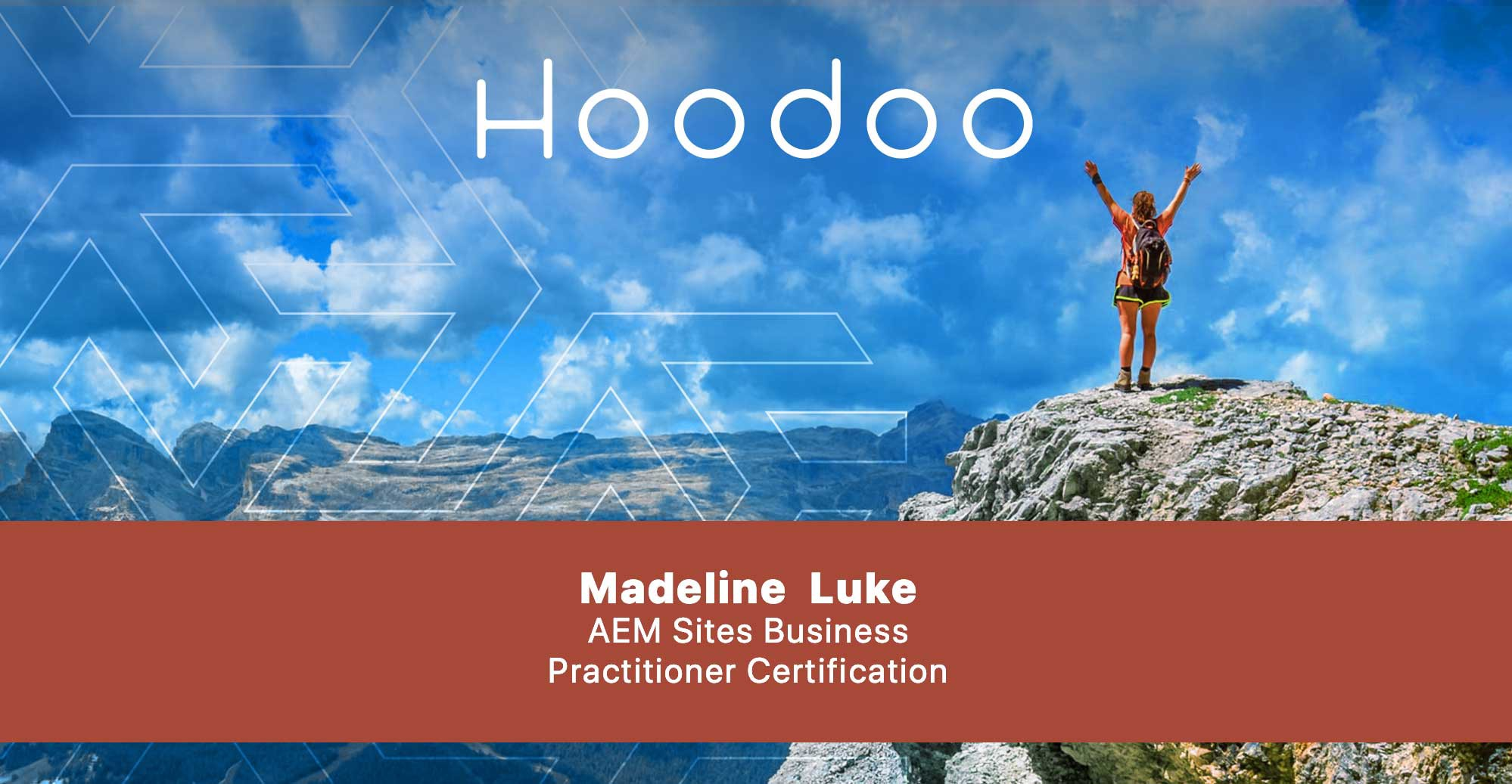 Madeline Luke Completes AEM Sites Business Practitioner Certification