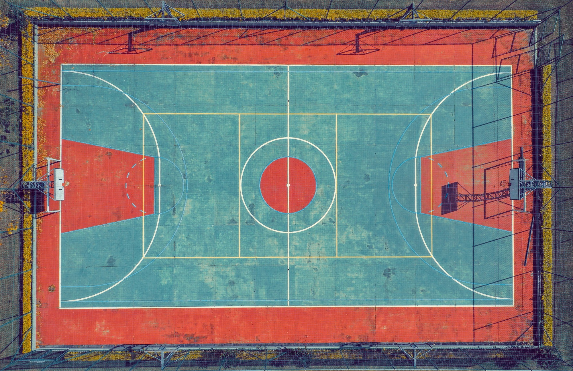 Basketball Court : Photo by sergio souza from Pexels