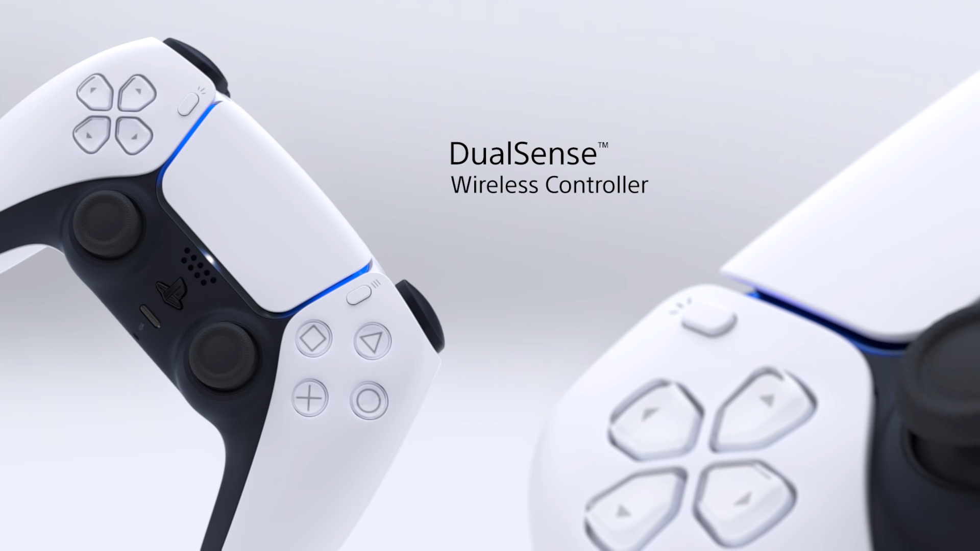PS5 dualsense controller in white