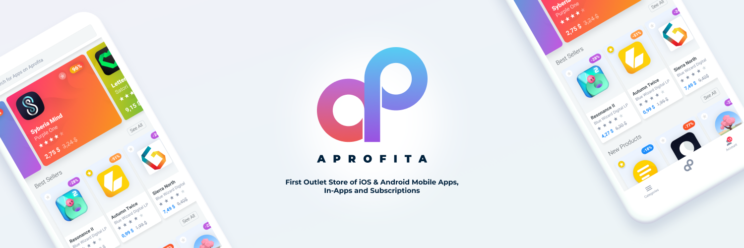 Introducing Aprofita Outlet Store of Mobile Apps, In-Apps and