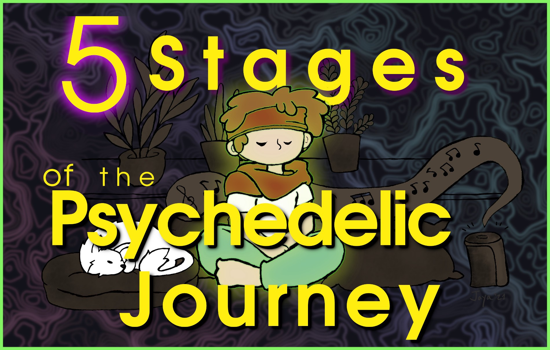 5 stages of the psychedelic journey