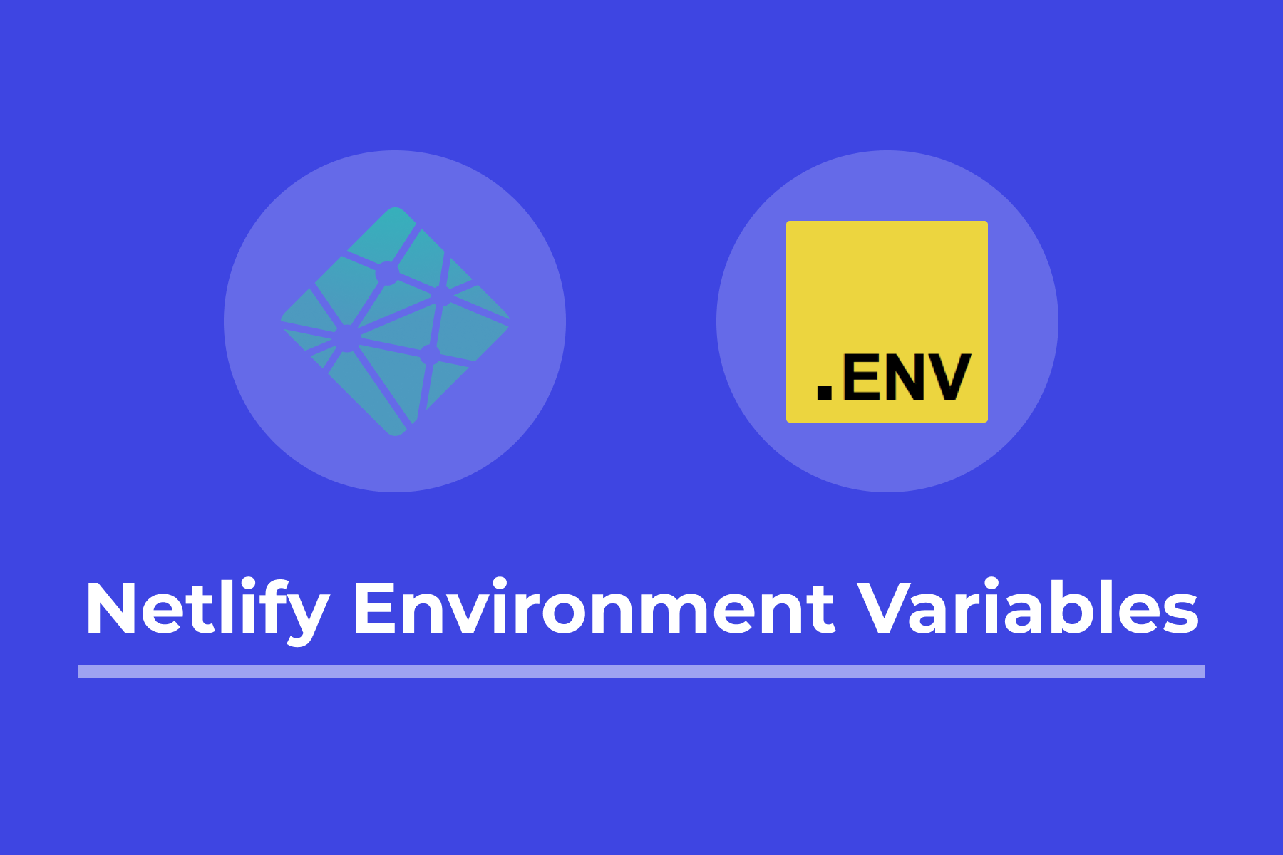 Cover Image: Netlify Environment Variables