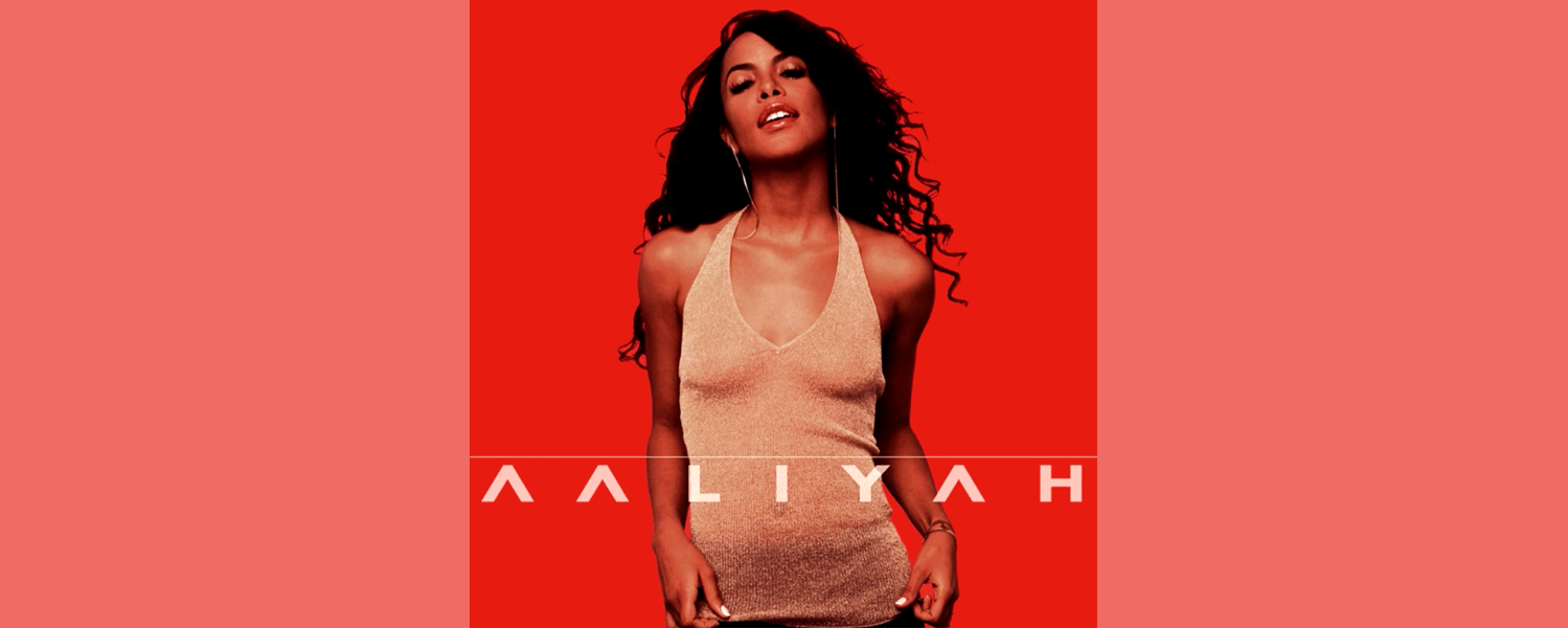 Aaliyah's self-titled album cover.