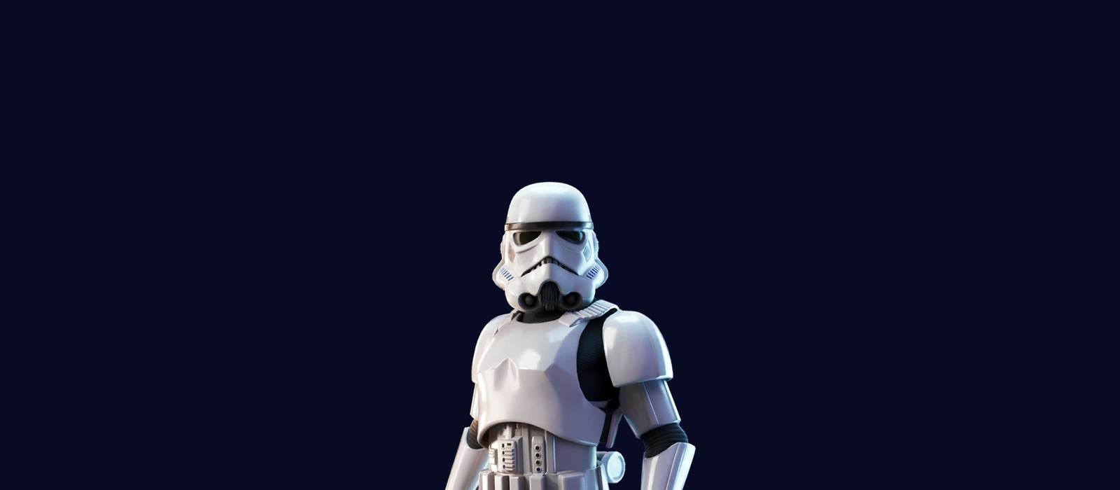This is an image of a Star Wars Stormtrooper.