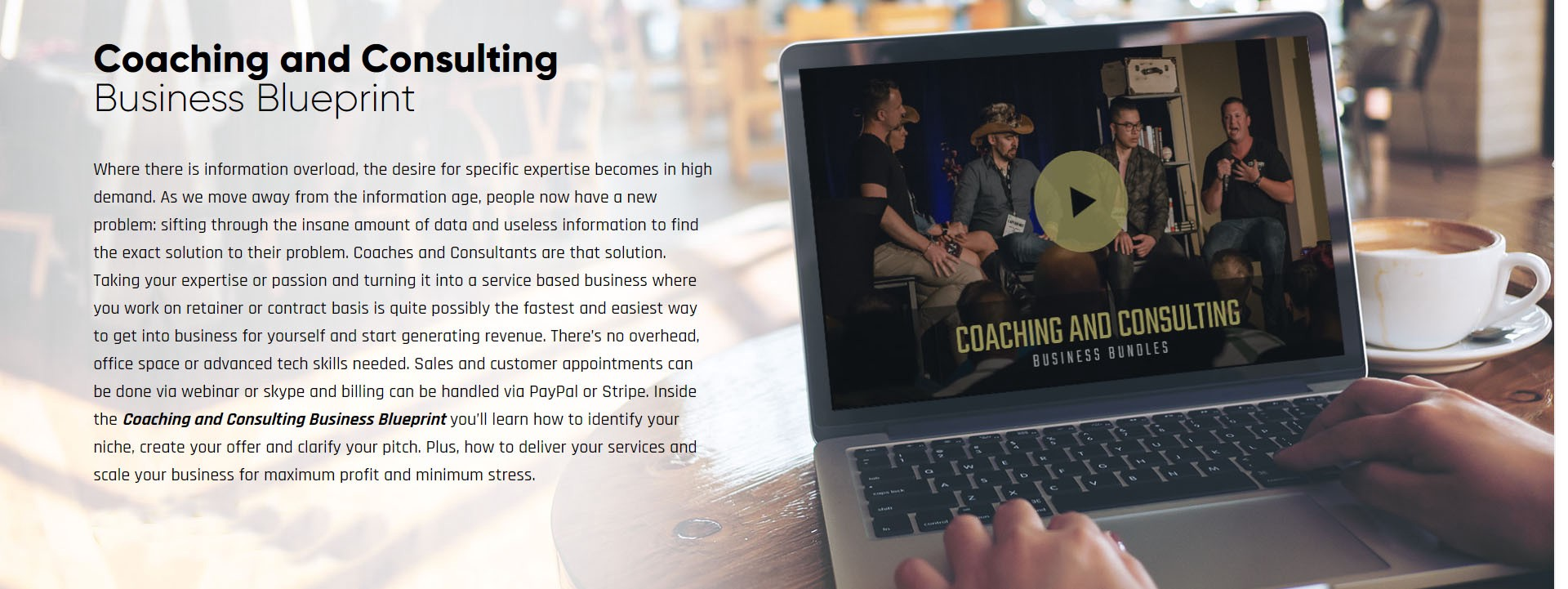 Coaching And Consulting Business Blueprint Print-screen