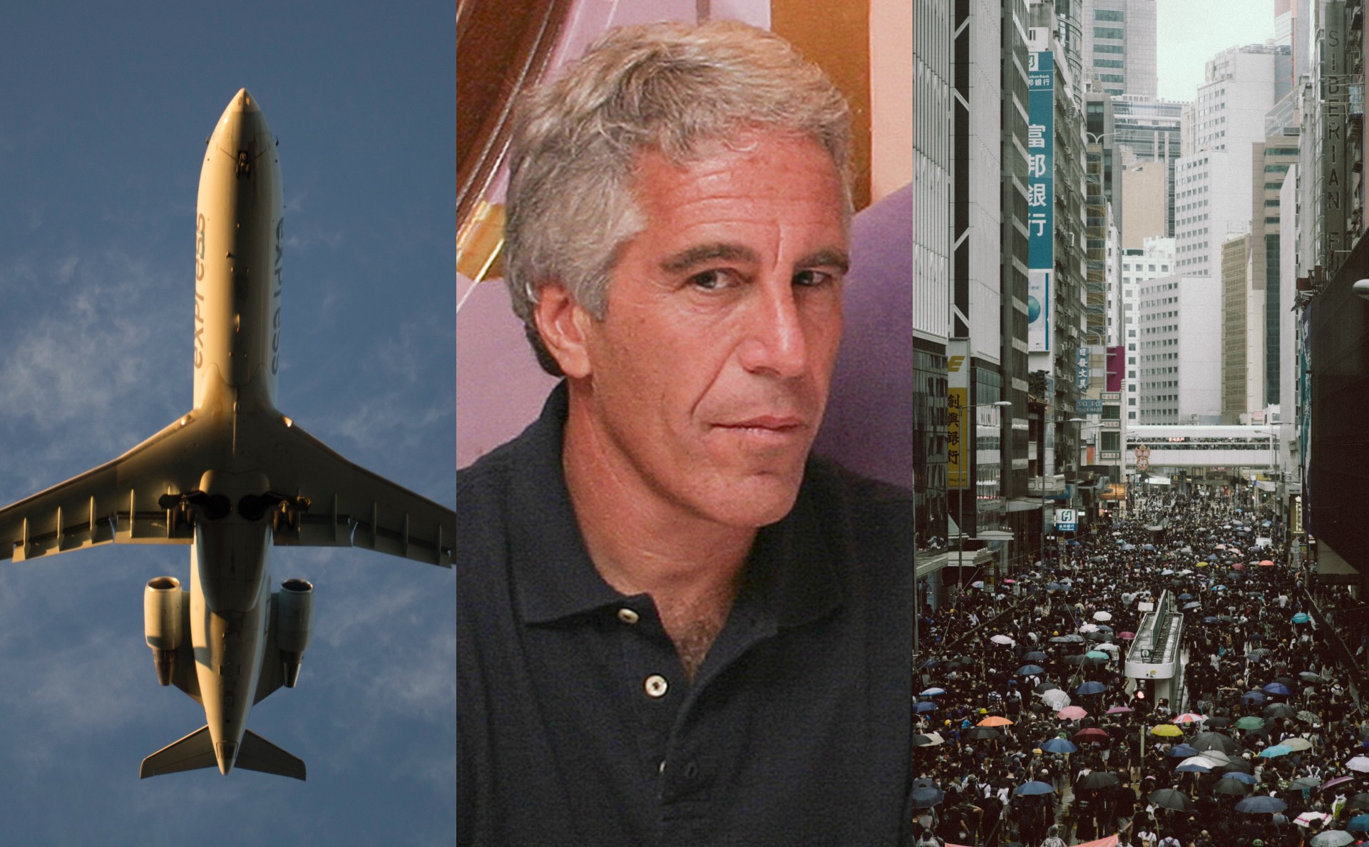 Boeing 737 Max / Jeffrey Epstein / Hong Kong Protests