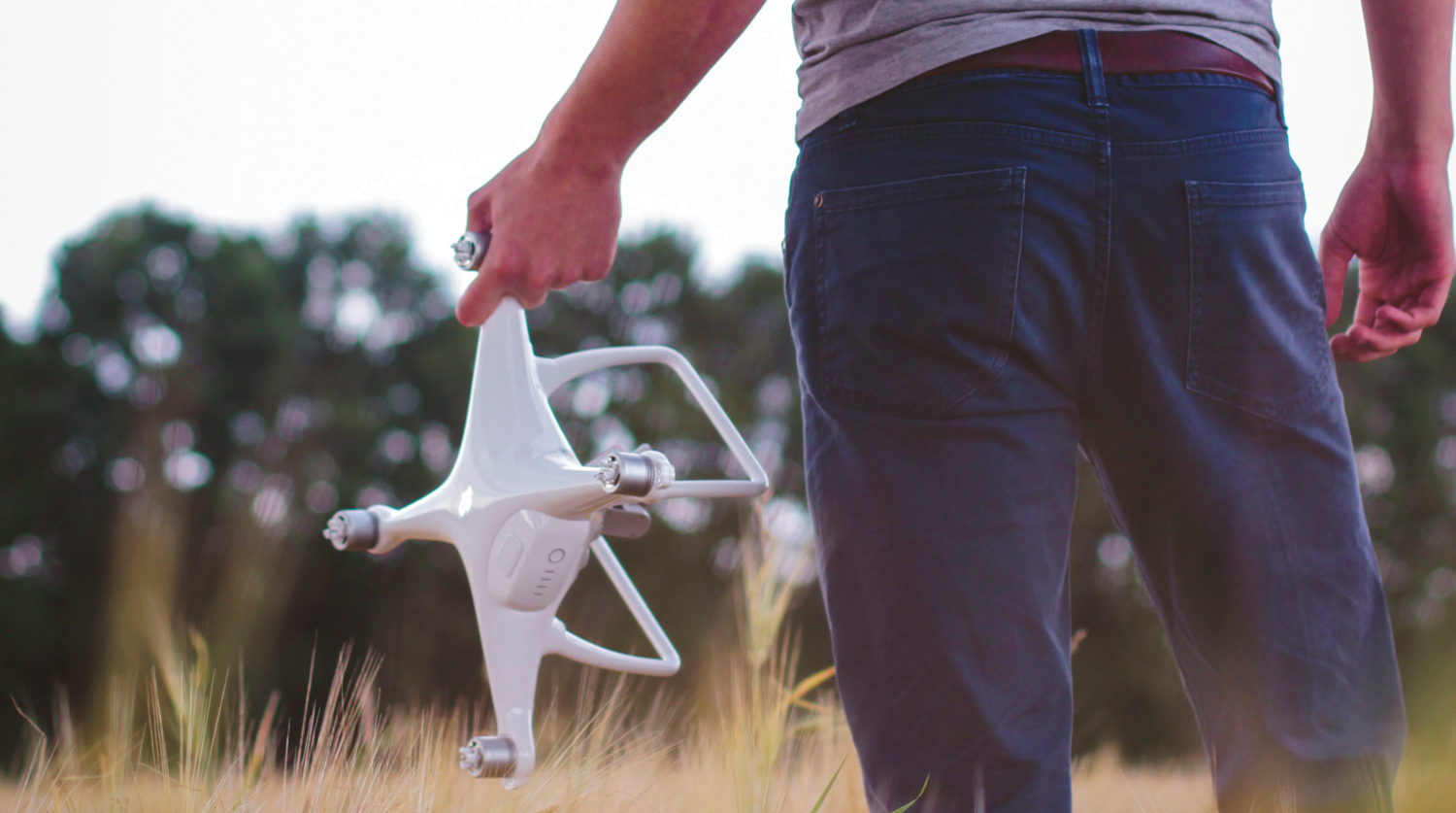Photo of a drone.