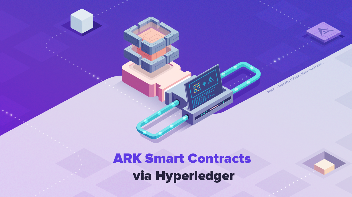 Making Cross-Chain Smart Contracts on ARK via Hyperledger Fabric