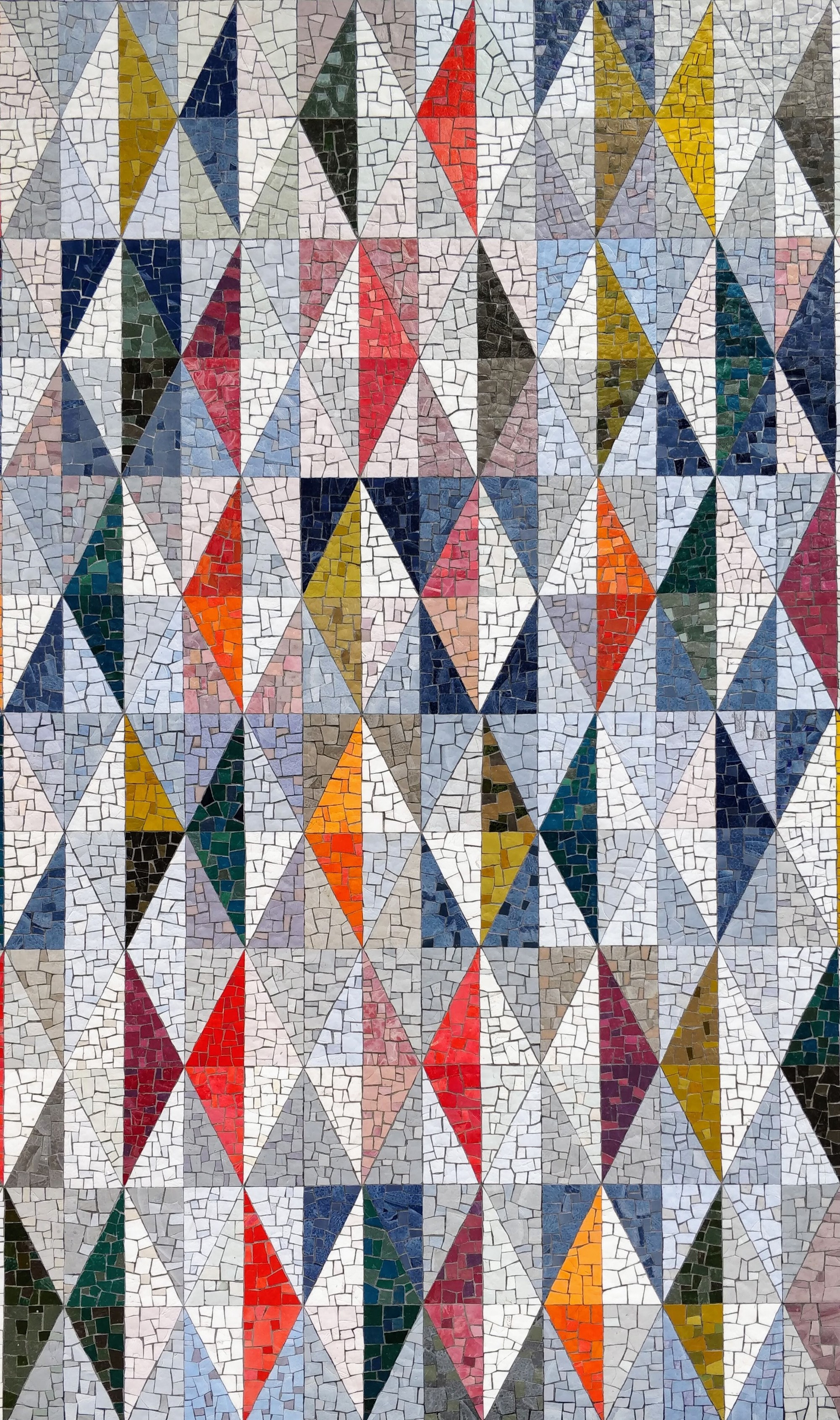 Picture of mosaic tiles in diamond patterns by Max Williams for Unsplash