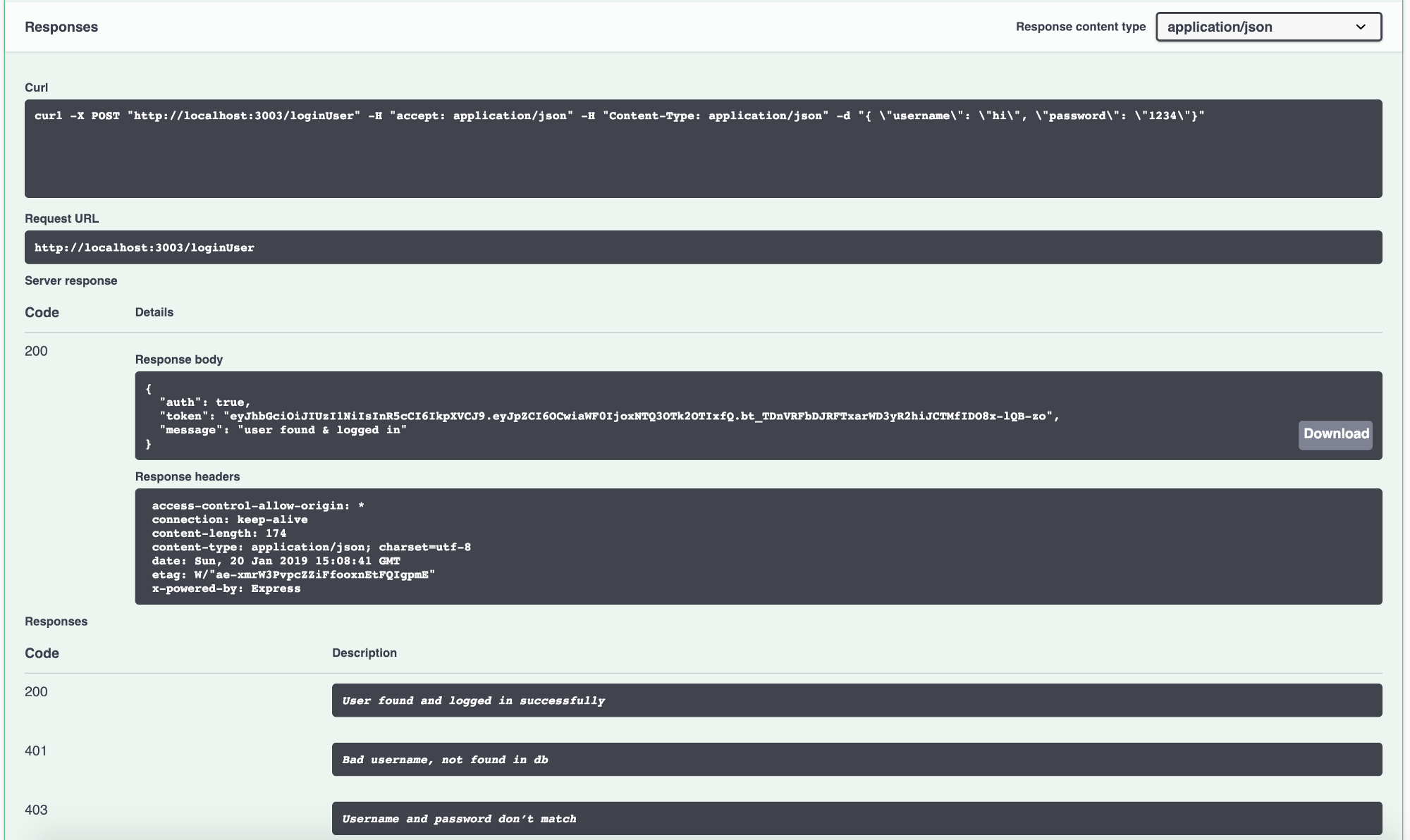 Swagger Url Spring Boot