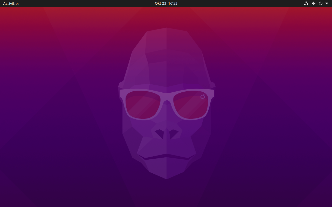 ubuntu 20.10 groovy gorilla desktop screenshot
