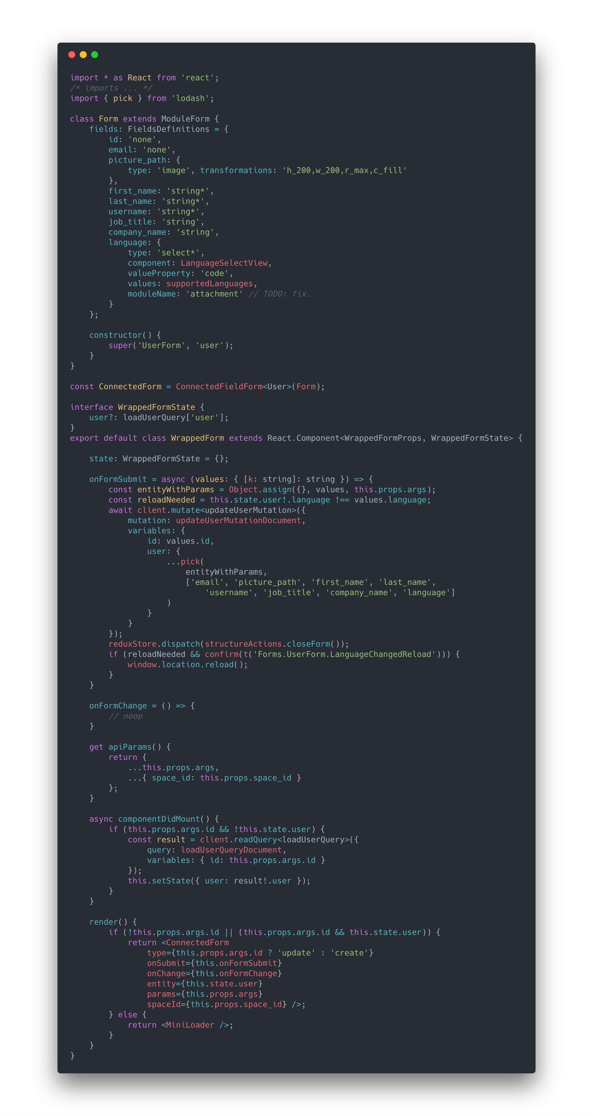 Build React forms based on GraphQL APIs  - Noteworthy - The Journal Blog