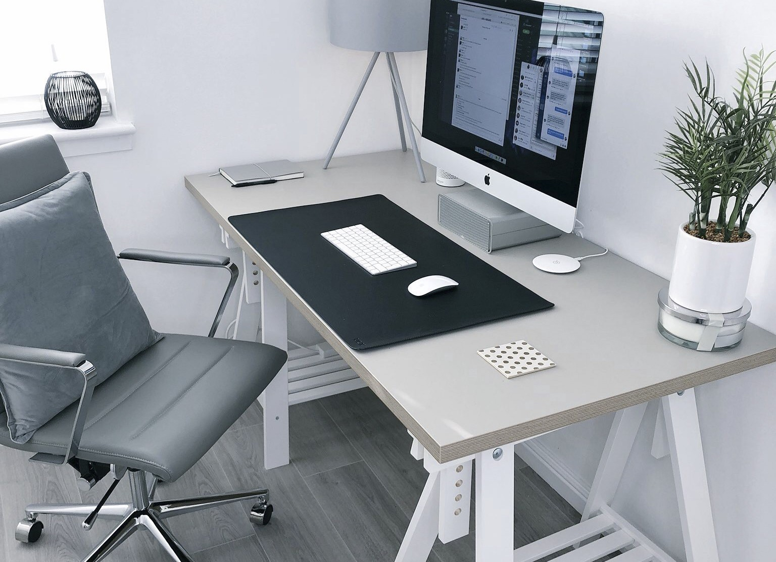 Ergonomic workspace